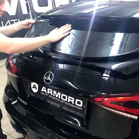 Тонировка стекол автомобиля плёнкой по ГОСТ