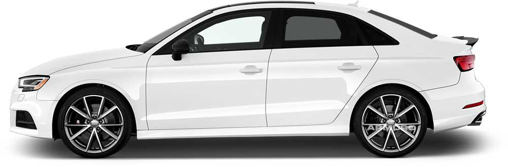 Стандартная защита кузова автомобиля бронеплёнкой