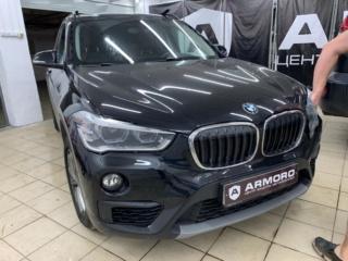 BMW X1 - частичная защита кузова виниловой пленкой «Oraguard 270»