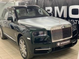 Rolls-Royce Сullinan - бронирование плёнкой «LLumar PPF» + защита салона нанокерамикой