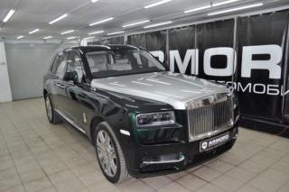 Rolls-Royce Сullinan - бронирование плёнкой «LLumar PPF» + нанокерамика салона