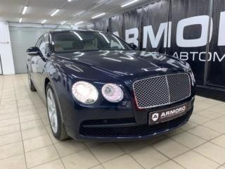 Bentley Flying Spur V8 - полная защита кузова полиуретановой плёнкой «LLumar PPF»