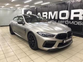 BMW M8 - полная защита кузова полиуретановой плёнкой «STEK DYNO»